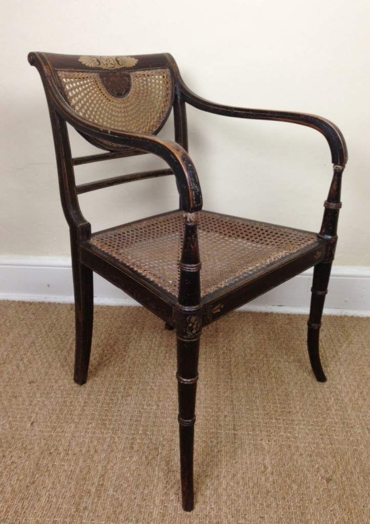 a-regency-painted-elbow-chair-c-1815-301690